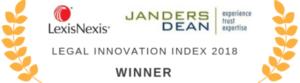 Legal Innovation Index 2018 trophy