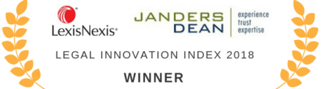 Legal Innovation Index 2018 trophy
